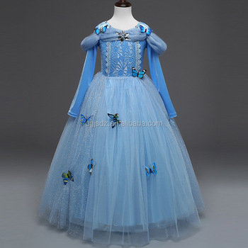 Baby Girl Frocks Designs Children Girl Cinderella Princess Dress ...