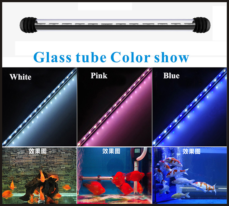 Wholesale chinese moonshine led marine light underwater 5050 submersible trip light arowana fish aquarium lighting price