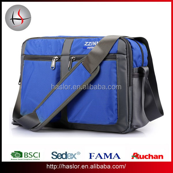 High quality Waterproof messenger bag for men