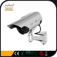 Security CCTV False Outdoor CCD Solar Camera Fake Camera Cheap Dummy Bullet Camera
