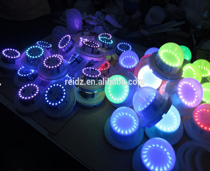 Remote Control Rgb Led Magnetic Battery Operated Lights