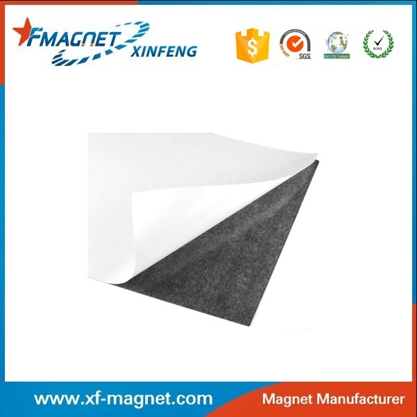Self Flexible Adhesive Magnetic Sheets A4 Paper for Custom Buisness Cards
