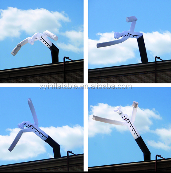 Hot sale custom chef inflatable sky air dancer dancing man for advertisement promotion