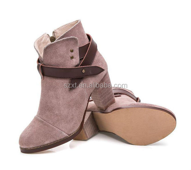 New Model Boots Big Size Fashion Boots Comfortable Nude Women