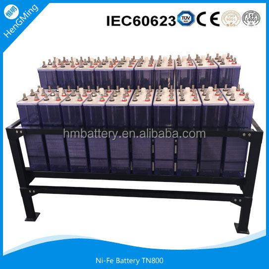 Ni-fe Battery /solar Battery/nickel Iron Battery/ Iron-nickel Battery For  Solar (wind) - Buy Nickel Iron Batteries For Sale,Ni-fe Battery,Solar