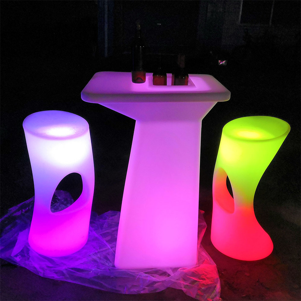 Club decor table furniture led illuminated table modern led bar table/ nightclub/ led furniture