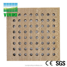 perforated acoustic panel with micro hole sound reflective materials board for ceiling decoration