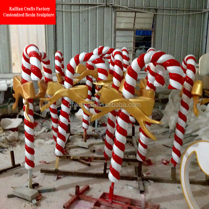 Large Candy Cane Decoration Entrancing Fiber Large Outdoor Christmas Decorationsgiant Candy Cane  Buy Decorating Inspiration