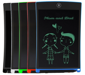 8.5 inch LCD drawing tablet electronic message portable lcd electronic writing and drawing board for children