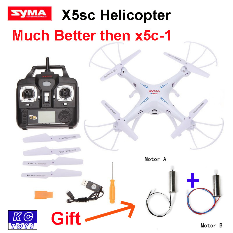 New Syma X5SC 2.4G 4CH 6-Axis Professional Aerial X5C-1 Upgrade Version RC