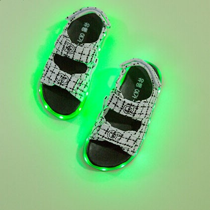 light up shoes new led lighting large base sponge female sandals shoes women shoes