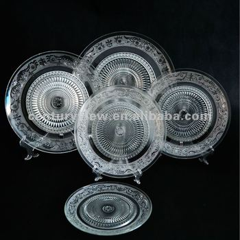Wholesale Cheap Glass Dinner Plates For Restaurant Wedding - Buy ...