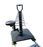 IDEAL 16 wheels With seat video shooting moving car camera tripod dolly track dolly Rail car
