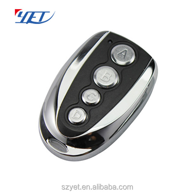 High quality 433mhz abcd button garage door remote control opener