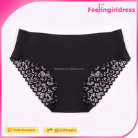 Women's seamless panty/invisible panty lace panties for men