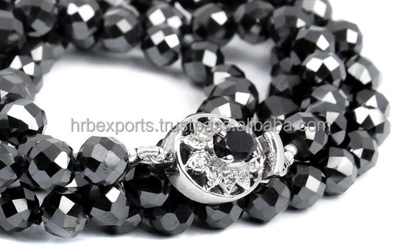 1mm,2mm,3mm,4mm,5mm,6/7/8mm, 9-10-11mm black diamond beads strands necklace ,faceted Black diamond beads.