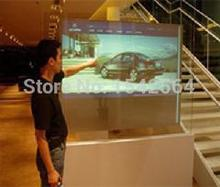 table game 55″ 4 points projected screen touch foil Multi touch USB touch film