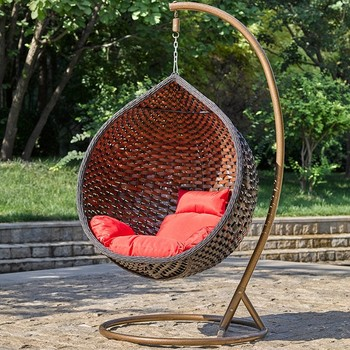 Mid Century Rattan Chair, 2019 Best Selling Outdoor Rattan Wicker Double Seat Hanging Egg Swing Chair With Metal Stand Basket Swing Jhula Garden Balcony Buy Swing Chair With Metal Stand Egg Swing Chair Hanging Egg Swing Chair Product