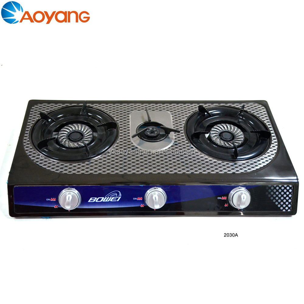 Excellent quality panel securinless gas stove BW-3020A