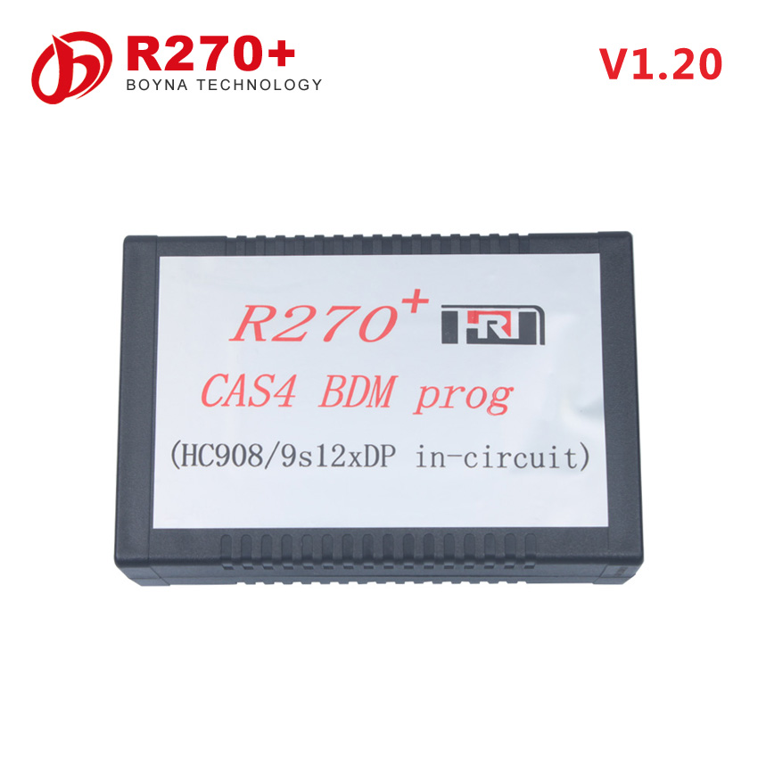 [New Arrival] OBD2 obdII OBD II R270 V1.20 mileage correction tool r270 cas4 bdm prog with high quality