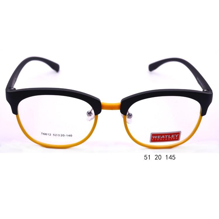 metal reading glasses memory optical tr90 2017 eyeglass frame stand yellow eyeglass frames - Yellow Eyeglass Frames