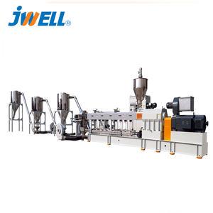 JWELL WPC parallel twin-screw granulating line /PE wood Pelleting machine/Eager granulator