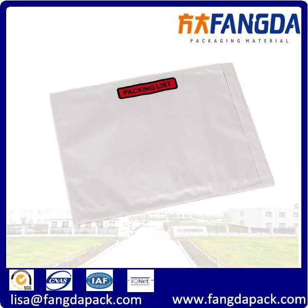 20 POUCHES SLIPS ADDRESS LABELING SHIPPING DOCUMENTS ENCLOSED A7 PLAIN WALLETS
