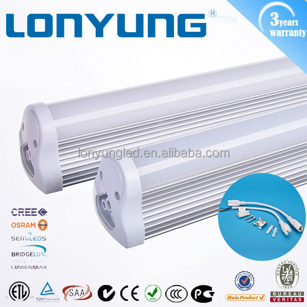 600MM-2400MM T8 LED tube 900mm 3ft 12w 18w 3'' led light tubo t8