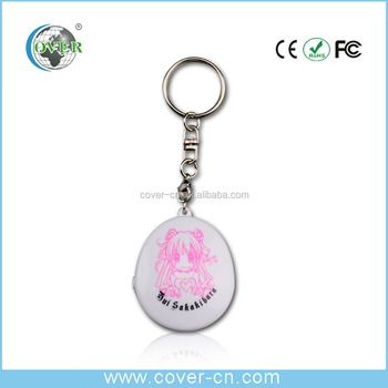 Cheap mini voice recorder knitted baseball sound keychain