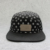 Floral Custom Slik Screen Printing 5 Panel Hat With Leather Strap And Metal Plate For Men