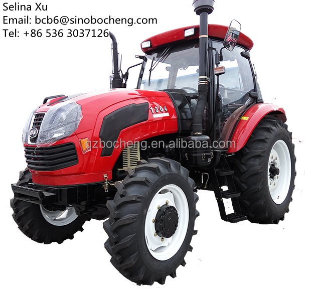 cheap agricultural equipment 130hp big farm tractor 1304 for sale