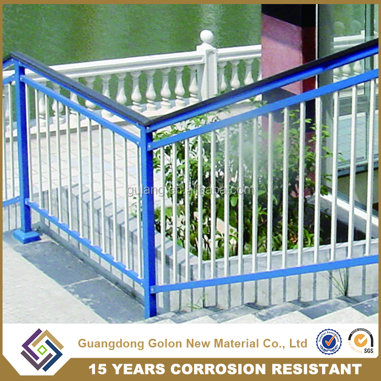 Security High-quality embled Aluminum Security Railings For Outdoor on