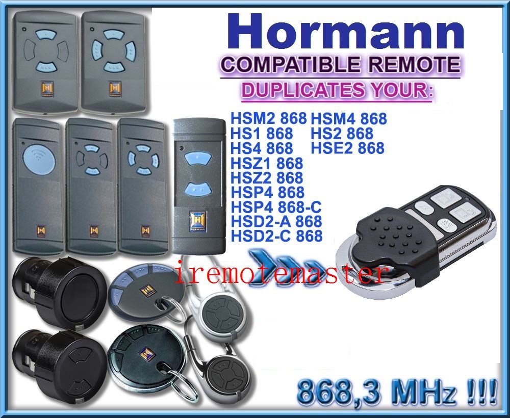Hormann Remote Control Replacement Radio Control Hormann