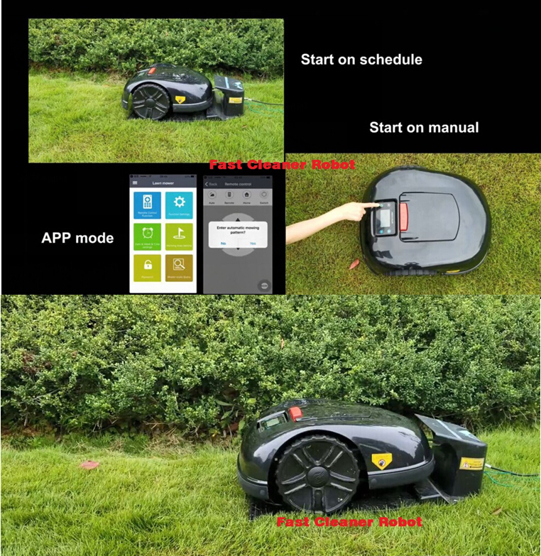 2018 Newest And Best 5th Gerneration Robot Grass Cutter With NEWEST GYROSCOPE Navigation Function