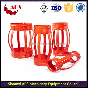 API 10D Slip On Bow Spring Single One Piece Centralizer Pipe Casing Centralizer