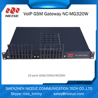 12 Months Warranty! ! NICEUC GoIP 8/64 voip gsm gateway 16 Port gateway b660 3g wireless gateway router