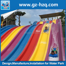 Used swimming pool slide, Cheap prices water park fiberglass big water slides for sale