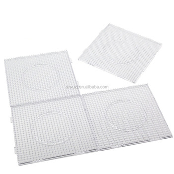 Diyfashion 5mm Fuse Beads Boards Large Clear Pegboards