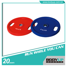 Good price olympic rubber coated weight plate