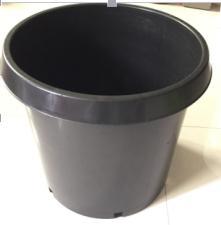 Kailai Hydroponics Growing Net Pot On Black Plastic Nursery Pots Hole