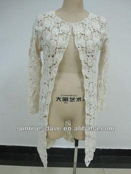 Mode Häkeln 2013 Lange Pullover Weste Musterhäkeln Rock Buy