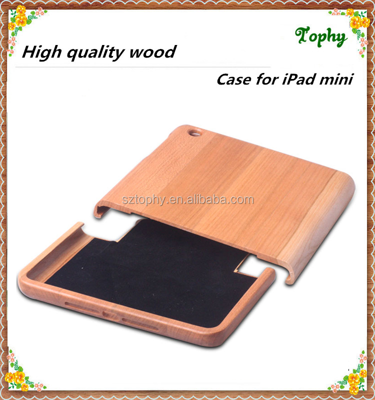 Factory wood products for mini ipad case/for ipad mini case wholesale