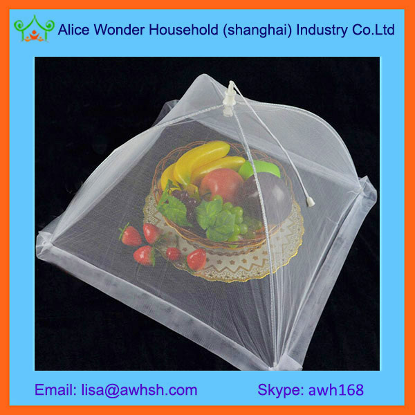 Square Pop Up Mesh Screen Food Cover