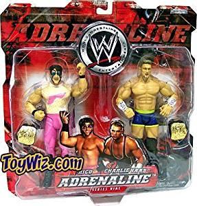 WWE Jakks Pacific Wrestling Adrenaline Series 9 Action Figure 2-Pack Rico & Charlie Haas by Jakks Pacific