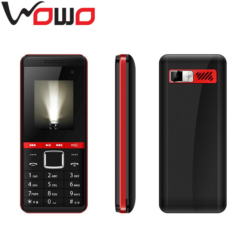 1.77'' QVGA Unlocked GSM Quad Band Mobile Phone 64+64MB Dual Sim Mobile Phone with Camera K32
