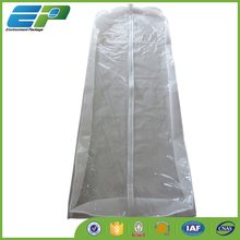 white gusseted wedding gown garment bags wholesale