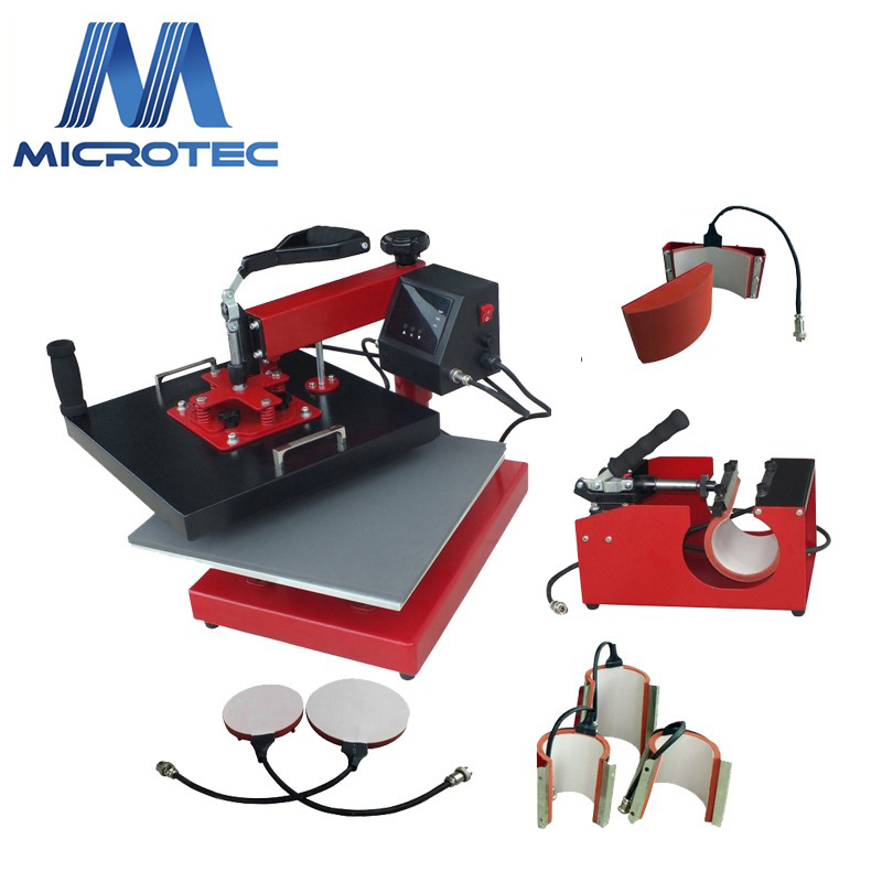 Good Price 8 In 1 Combo Printing, t-shirt Sublimation Printer Heat Press Machine For Sale