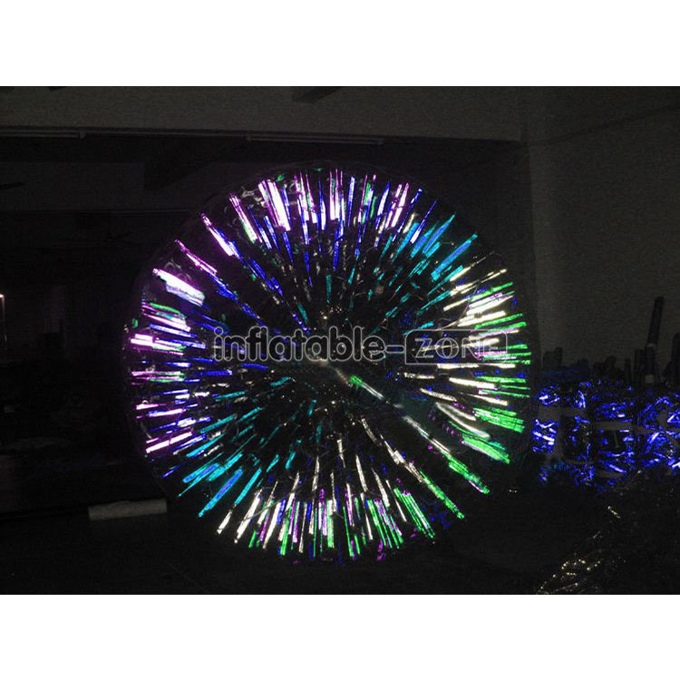 Hot sale multicolor lighting zorb <strong>ball</strong>, free shipping glow zorb <strong>ball</strong> for sale