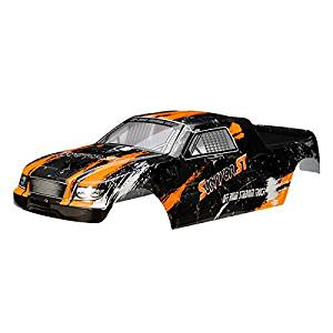 New HBX 1/12 12684 Truggy Body Shell Orange SURVIVOR ST Car Part By KTOY