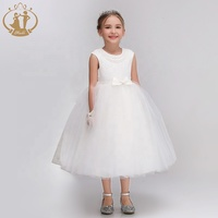 2019 new fashion high quality ball gown tulle lace sleeveless kids girls first holy communion dress
